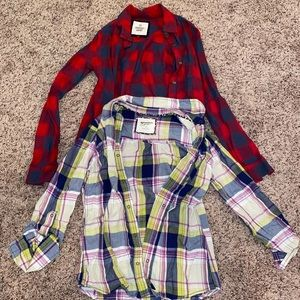 Two of my fav flannels
